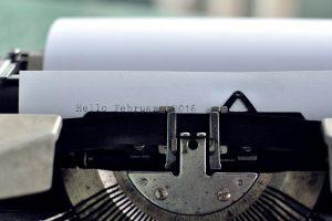 タイプライター文字